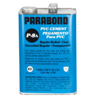 PVC Cement - Clear Regular Body - Gallon