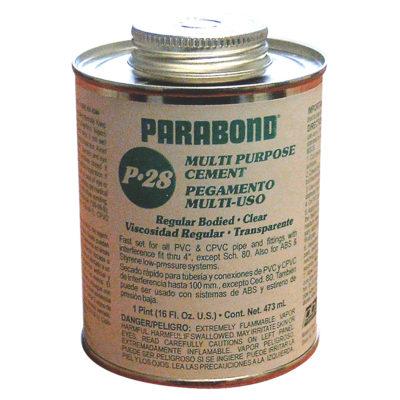 Multi-Purpose Cement - Clear Medium Body - 1/4 Pint