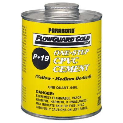 Flowguard Gold™ CPVC CTS Cement - Medium Body - 1/4 Pint