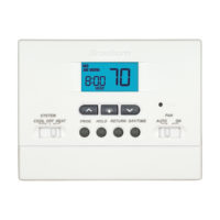 Digital Programmable Thermostat - 1 Heat/1 Cool