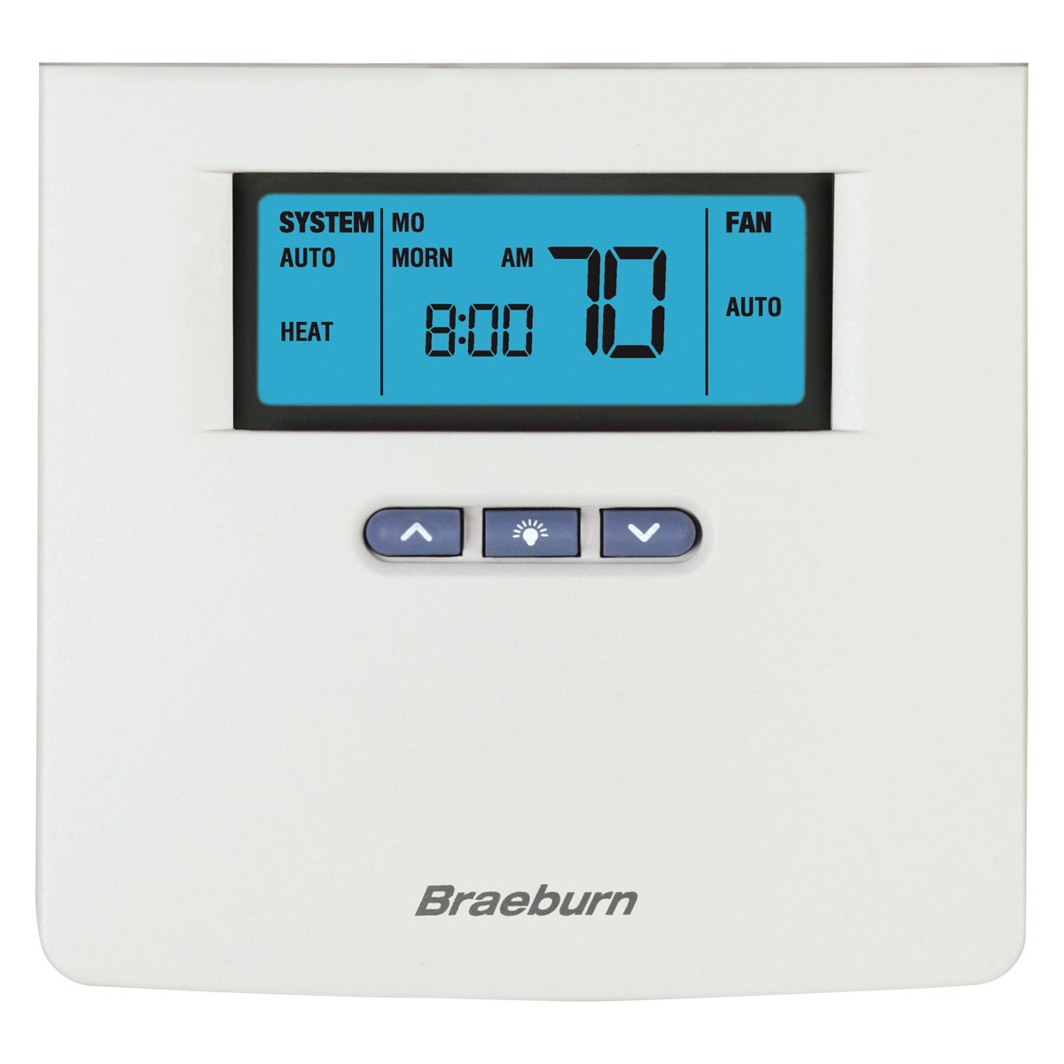 Digital Programmable Thermostat - 3 Heat / 2 Cool