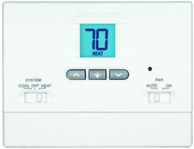 Digital Non-Programmable Thermostat - 2 Heat / 1 Cool