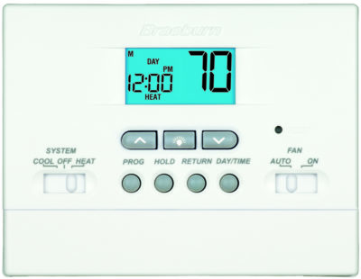 Digital Programmable Thermostat (2 Heat / 1 Cool)