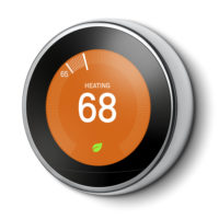 Google Nest Learning Thermostat 3rd Gen - Stainless Steel