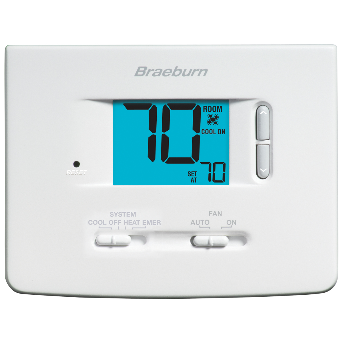 Digital Non-Programmable Thermostat - 2 Heat/1 Cool