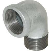 "1-1/2"" Galvanized 90° Street Elbow"