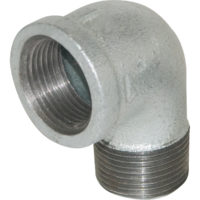 "2"" Galvanized 90° Street Elbow"