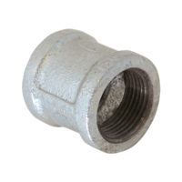 "1-1/2"" Galvanized Banded Couplings"