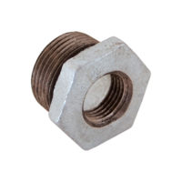 "1-1/2"" x 3/4"" Galvanized Bushing"