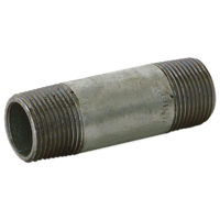 "1-1/4"" x 12"" Galvanized Nipple"