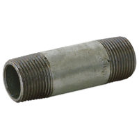 "1-1/2"" x 12"" Galvanized Nipple"