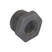 "1-1/2"" x 1"" Black Malleable Bushing"