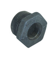 "3/8"" X 1/4"" Black Malleable Bushing"
