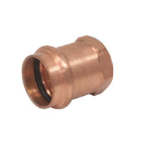 Nibco Press Female Adapter - 1 in. Press x 1-1/4 in. Female NPT