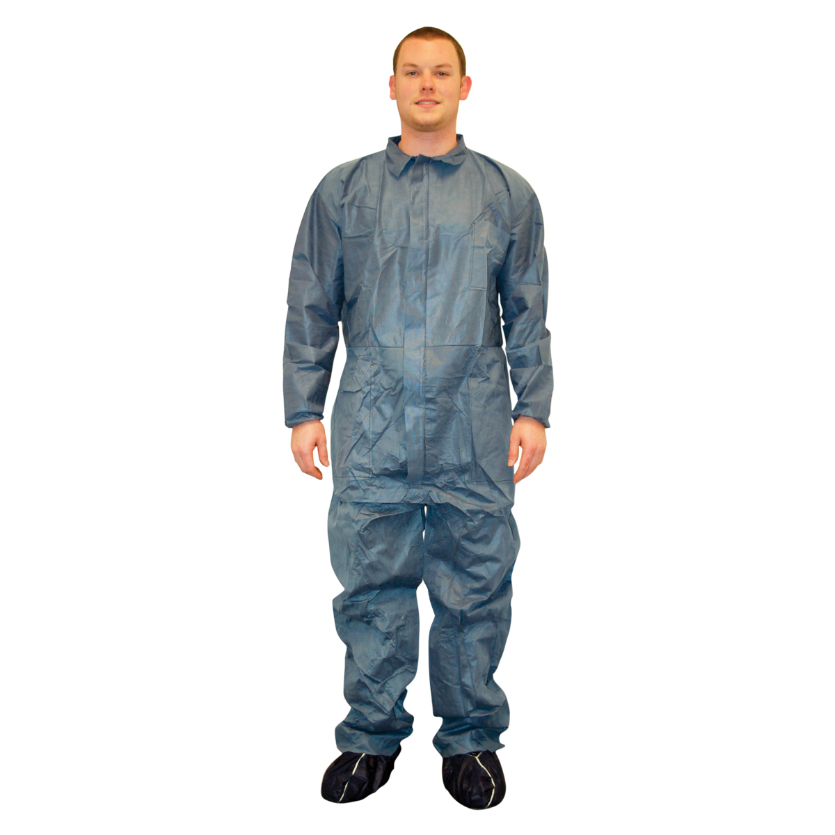 Disposable Coveralls with Shoe Covers
