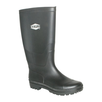 Rubber Boots - Size 11 Black Long Water Boot