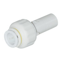 "5/8"" OD x 3/8"" CTS Stem Straight Stem-To-Tube Adapter"