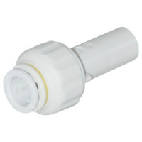 "5/8"" OD x 3/4"" CTS Stem Straight Stem-To-Tube Adapter"