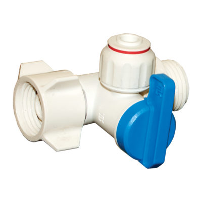 "1/2"" FIP x 1/2"" MIP x 1/4"" OD Add-An-Outlet Valve"