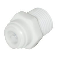 "1/4"" OD x 1/8"" MIP Male Adapter"