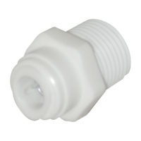 "3/8"" OD x 3/8"" MIP Male Adapter"