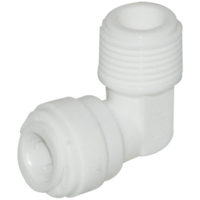 "1/4"" OD x 1/8"" MIP Male Elbow"