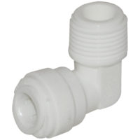 "1/4"" OD x 3/8"" MIP Male Elbow"