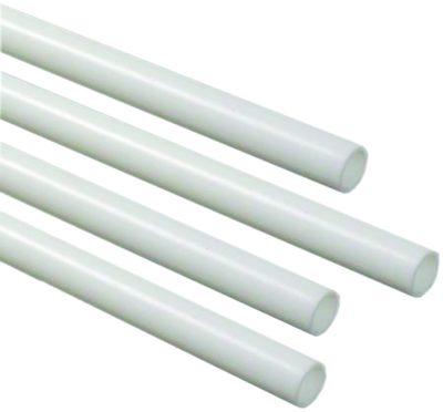 """1/2"""" ID x 5' PEX Tubing - White"""