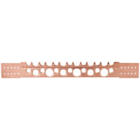 "2"" x 20"" - 18-Gauge Copper Plated Stub Out Bracket"