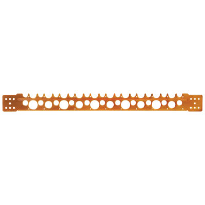"""2-3/8"""" x 26"""" - 18-Gauge Copper Plated Stub Out Bracket"""
