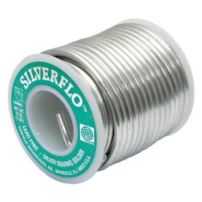Silver Flo Lead-Free Solder - 1 Lb.