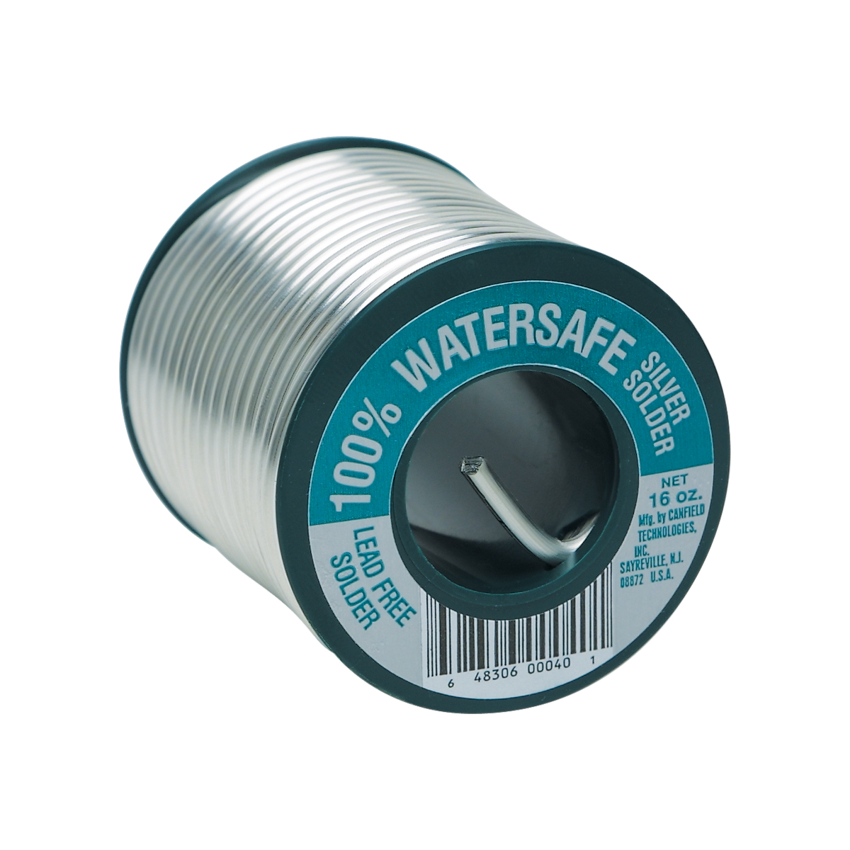 100% Water Safe® Lead-Free Solder - 1/2 Lb.