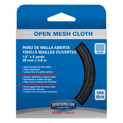 """1-1/2"""" x 5 Yards Mesh Sand Cloth - Taramet"""