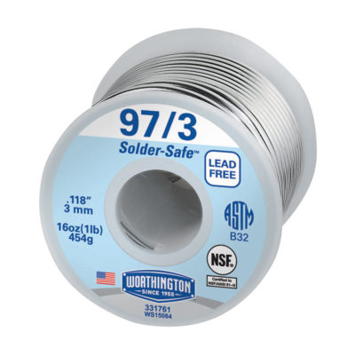 97/3 Lead-Free Solder - 1 Lb.