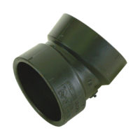 "1-1/2"" Hub  22-1/2° Elbows - ABS/DWV"