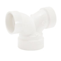 "2"" x 1-1/2"" x 1-1/2"" Double Elbow - PVC DWV"