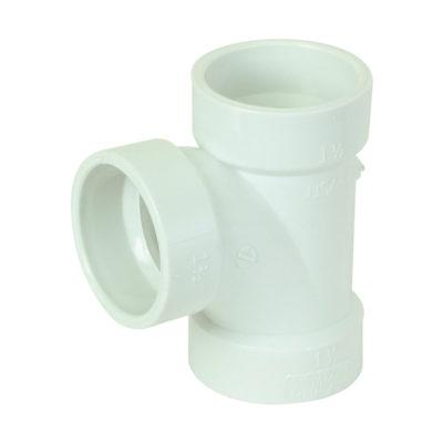 "4"" Sanitary Tee - PVC DWV"