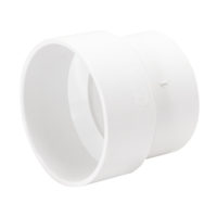 "4"" x 3"" Sewer Pipe Adapter - PVC DWV"