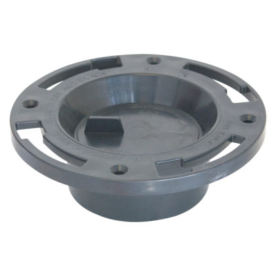 "4"" x 3"" Hub ABS Closet Flange with Knockout"