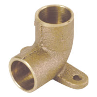 "1/2"" 90° Drop Ear Elbow - Copper"