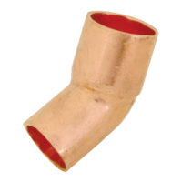 "1""   45° Street Elbow - Copper"