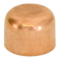 "3/8"" Cap - Copper"