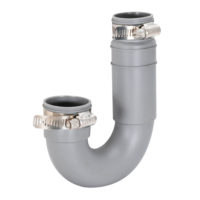 "1-1/4"" or 1-1/2"" Flexible J-Trap"