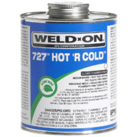 PVC Hot 'R Cold Cement - Medium Body - Quart