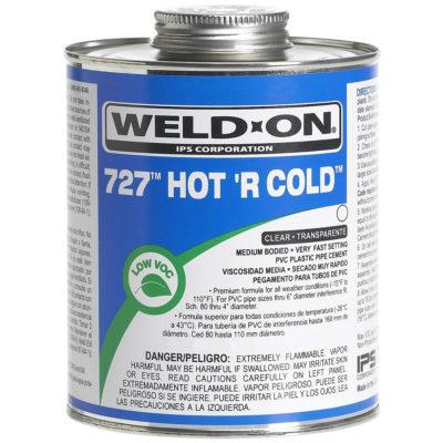 PVC Hot 'R Cold Cement - Medium Body - Quart