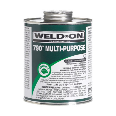 Multi-Purpose Cement - Clear Medium Body - 1/2 Pint