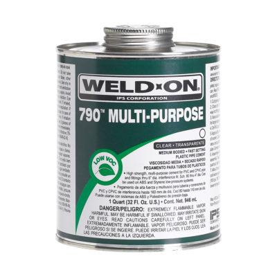 Multi-Purpose Cement - Clear Medium Body - Quart