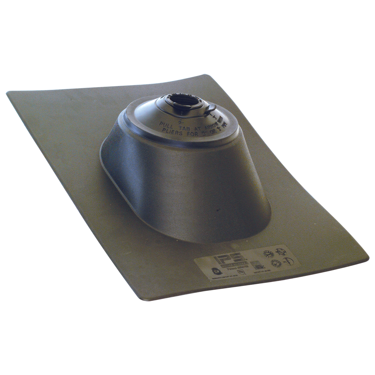 "1-1/4""  or 1-1/2"" , 2"" , 3"" Multi-Size Roof Flashing"