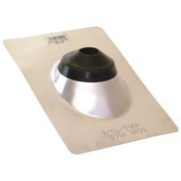 "1-1/4"" or 1-1/2"" Roof Flashing - Aluminum"