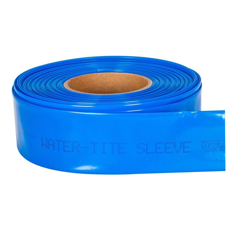 Pipe Sleeving - 6 MIL. Red and Blue